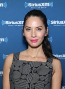 Olivia Munn-               SiriusXM Set Super Bowl 50 Radio Row San Francisco February 5th 2016.