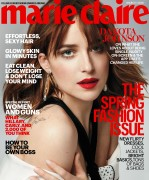 Dakota Johnson-              Marie Claire Magazine March 2016.