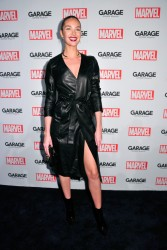 Candice Swanepoel - Marvel And Garage Magazine New York Fashion Week Event 2/11/16