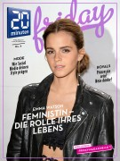 Emma Watson -                    20 Minuten Friday #6 February 2016.