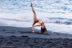 Nina Dobrev in a Bikini at a Beach - 2/12/16 Instagram Pic