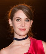 Alison Brie-                 Monse Front Row New York Fashion Week February 12th 2016.
