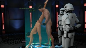 STAR WARS - NAUGHTY PRINCESS from HZR
