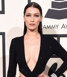 Bella Hadid - 58th GRAMMY Awards in LA 2/15/16