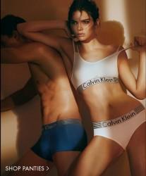Kendall Jenner - Calvin Klein Underwear Iron Strength Spring 2016