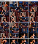 Eva Longoria @ The Late Show with Stephen Colbert | February 16 2016