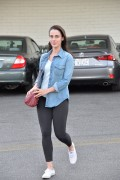 Jessica Lowndes - Out & About in LA 2/22/16
