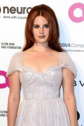Lana Del Rey - 24th Annual Elton John AIDS Foundation's Oscar Viewing Party 2/28/16