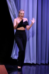 Margot Robbie - On The Tonight Show Starring Jimmy Fallon in NYC 3/1/16
