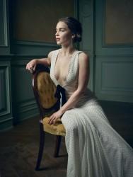 Emilia Clarke-         Mark Seliger 2016 Vanity Fair Oscar Party Portrait.