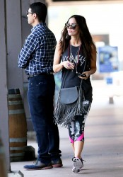 Megan Fox - At Sugarfish in LA 3/2/16
