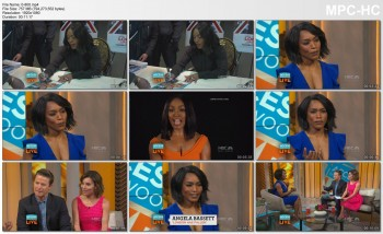 ANGELA BASSETT *ThunderCleave!* - Access Hollywood Live 3 FEB 2016