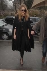 Gigi Hadid - Giambatista Valli Fashion Show in Paris 3/7/16