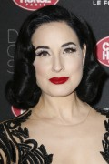 Dita Von Teese -        Crazy Show Opening Night Photocall Paris March 15th 2016.