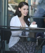Jessica Lowndes - Having lunch in West Hollywood 3/15/16