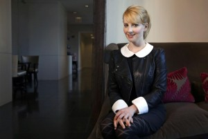 Melissa Rauch portrait pic for the Chicago Tribune 15th March 2016
